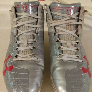 Under Armour Silver Bullet Baseball Cleats Used